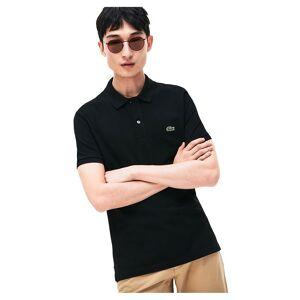 Lacoste Slim Fit Petit Piqué XL Black male