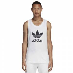 Adidas Originals Trefoil M White male