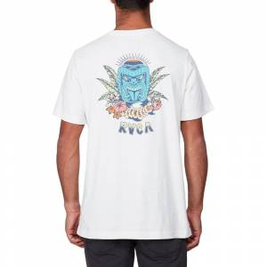 Rvca Dmote Aloha XL Antique White male