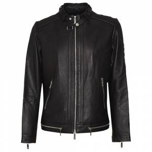 Skull Rider Sr99 Leather L Black male
