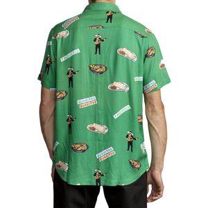 Rvca Hot Fudge L Vintage Green male