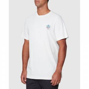 Rvca Dmote Aloha L Antique White male