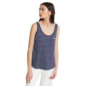 Superdry Orange Label Essential XS Navy Stripe female