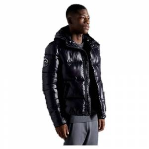 Superdry High Shine Padded S Black male