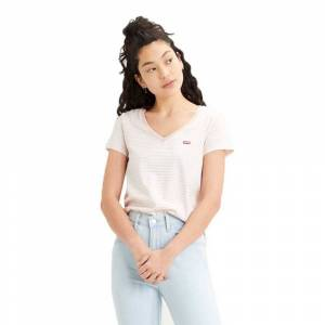 Levi´s ® Perfect V Neck L Annalise Stripe female