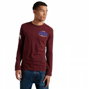 Superdry Vintage Logo Duo S Rich Red Grit male