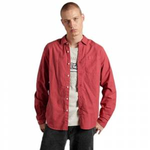 Superdry Lined Dried Oxford XL Preppy Red male