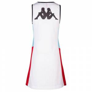 Kappa Calyp Authentic Race S White / Turquoise / Red female