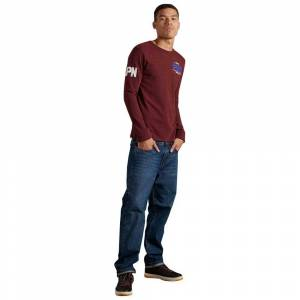 Superdry Vintage Logo Duo M Rich Red Grit male