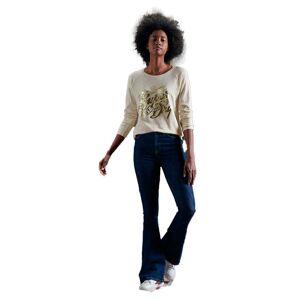 Superdry Detroit Graphic XL Cream / Gold female