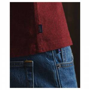 Superdry Orange Label Vintage Embroidered XXXL Rich Red Grit male