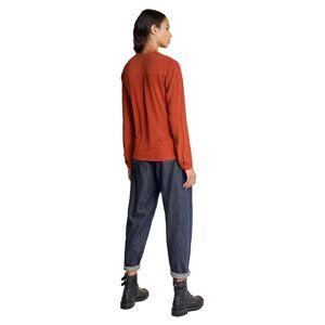 Salsa Jeans Pleated Fabric XS Orange female