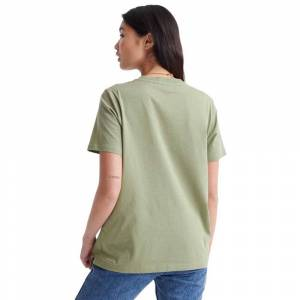 superdry  - Female - Oil Green - Size: Medium