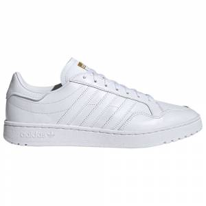 Adidas Originals Team Court EU 46 Footwear White / Footwear White / Core Black male
