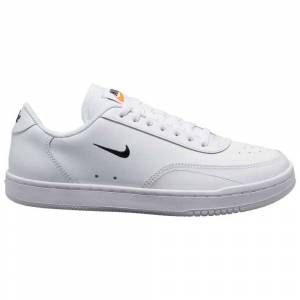Nike Sportswear Court Vintage EU 40 1/2 White / Black / Total Orange female