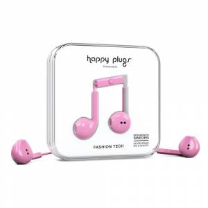 Happy Plugs Earbud Plus Wired One Size Pink unisex