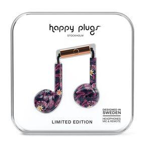 Happy Plugs Earbud Plus Wired One Size Hawaiian Nights unisex