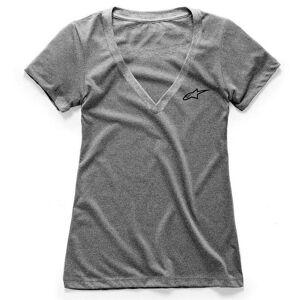 alpinestars T-Shirts Ageless Vneck  - Grey Heather - Size: 2X-Large
