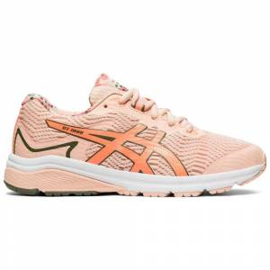 Asics Running shoes Gt 1000 8 Gs Sp  - male - Breeze / Sun Coral - Size: UK K13