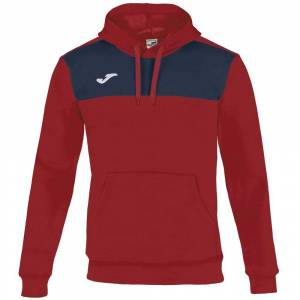 Joma Winner Cotton Hooded XXS Red / Navy