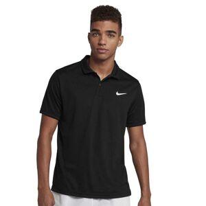 Nike Polo shirts Court Dri Fit Team  - Male - Black / Black / White - Size: 2X-Large
