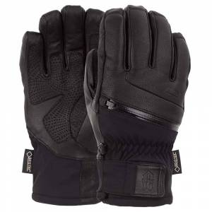Pow Gloves Alpha Goretex S Black male