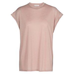 Icebreaker Cool-lite Short Sleeve T-shirt L Pumice female