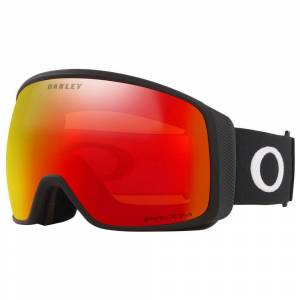 Oakley Flight Tracker Xl Prizm Snow Ski Goggles Prizm Iridium Snow Torch/CAT3 Matte Black unisex