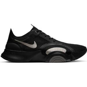 Nike Superrep Go Shoes EU 44 1/2 Black / Mtlc Pewter / Iron Grey / Mtlc Pewter - male - Black / Mtlc Pewter / Iron Grey / Mtlc Pewter - Size: UK 9.5