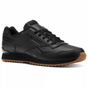 Reebok Trainers Royal Glide Rplclp  - Male - Black / Gum - Size: UK 10