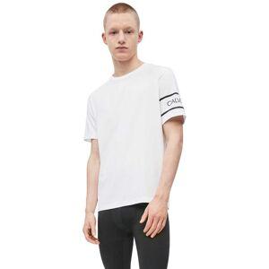 Calvin Klein Performance Tee M Bright White - male - Bright White - Size: Medium