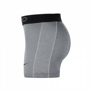 Nike Pro Short Tight L Smoke Grey / Lt Smoke Grey / Black - male - Smoke Grey / Lt Smoke Grey / Black - Size: Large