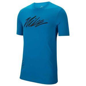 Nike T-Shirts Dri Fit Project X Tee Regular  - Male - Laser Blue - Size: Medium