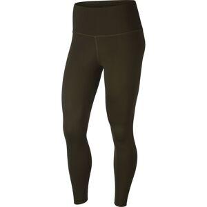 Nike Yoga 7/8 S Cargo Khaki / Medium Olive - female - Cargo Khaki / Medium Olive - Size: Small