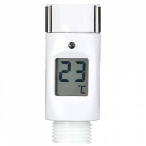 Tfa Dostmann 30.1046 Digital Shower Thermometer One Size White  - Unisex - Size: One Size