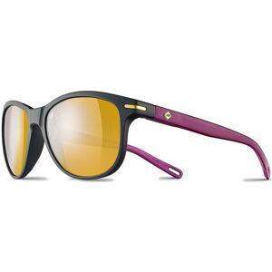 Julbo Adelaide Polarized Pink P6056 Polarized 3/CAT3 Black Mat / Violet Translu  - Unisex - Size: Pink P6056 Polarized 3/CAT3