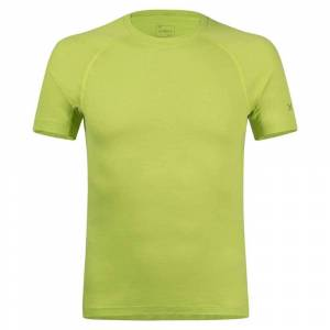 Montura Merino Concept Short Sleeve T-shirt XL Lime Green  - Male - Size: Extra Large