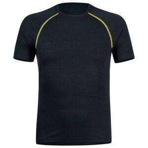 Montura Merino Concept Short Sleeve T-shirt XL Slate / Lime Green  - Male - Size: Extra Large