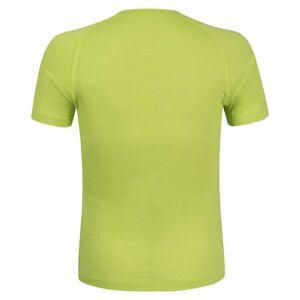 Montura Merino Concept Short Sleeve T-shirt L Lime Green  - Male - Size: Large