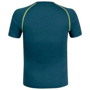 Montura Merino Concept Short Sleeve T-shirt L Ash Blue / Lime Green  - Male - Size: Large