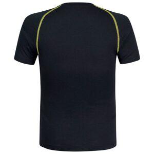 Montura Merino Concept Short Sleeve T-shirt XXL Slate / Lime Green  - Male - Size: 2X-Large