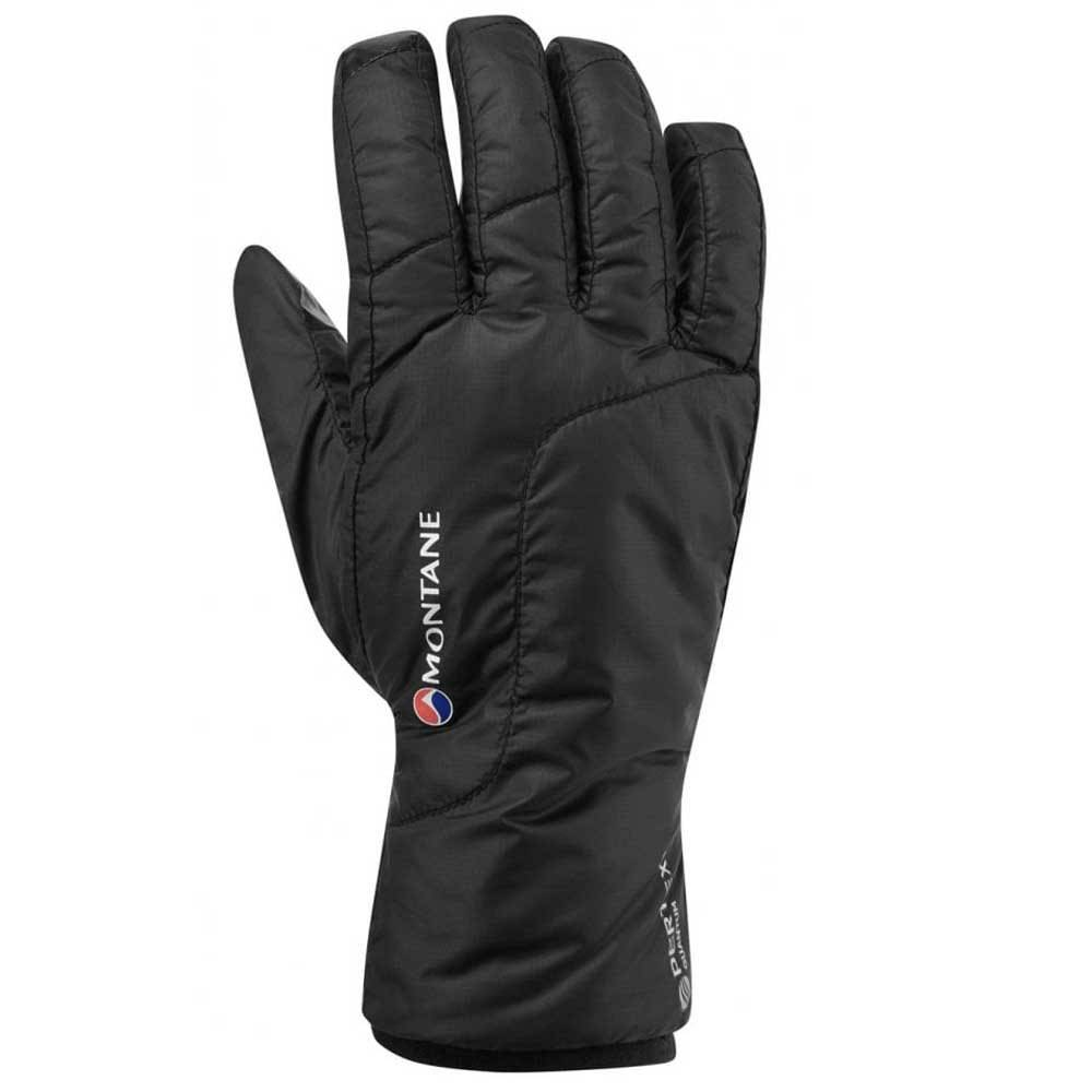 Montane Prism Gloves S Black  - Female - Size: Small