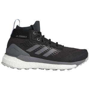 Adidas Terrex Free Hiker Goretex Hiking Shoes EU 38 2/3 Carbon / Grey Four / Bright Blue  - Female - Size: UK 5.5