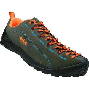 Keen Jasper Shoes EU 42 Black Olive / Nectarine  - Male - Size: UK 8