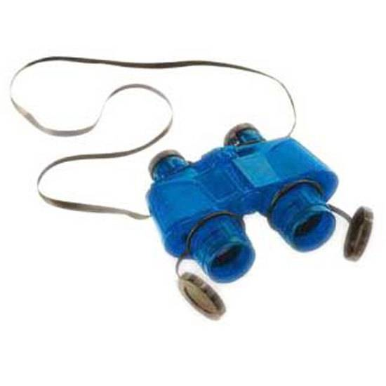 Safari Ltd Translucent Binoculars With Vinyl Case From 3 Years Blue  - Unisex - Size: From 3 Years