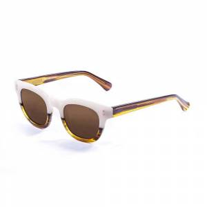 Ocean Sunglasses Santa Cruz One Size Brown / White Up