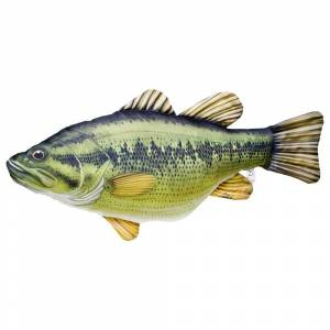 Gaby The Largemouth Bass Medium One Size Green / Black / Yellow