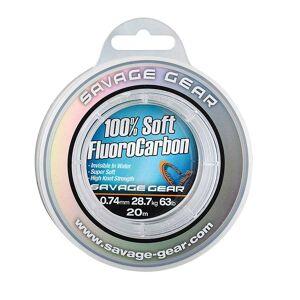 Savage Gear Soft Fluoro Carbon 50 M 0.220 mm