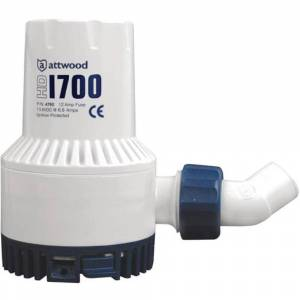 Attwood Heavy-duty Bilge Pump 1700 One Size