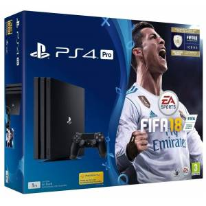 Sony PlayStation 4 Pro Console 1TB With FIFA 18
